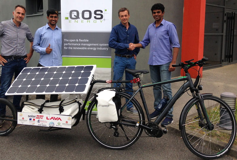Sun Pedal ride - QOS Energy