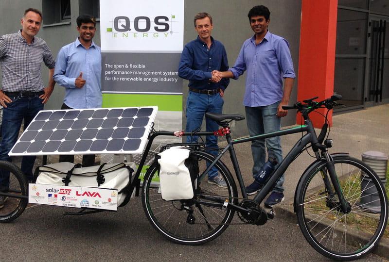 Sun Pedal ride - QOS Energy