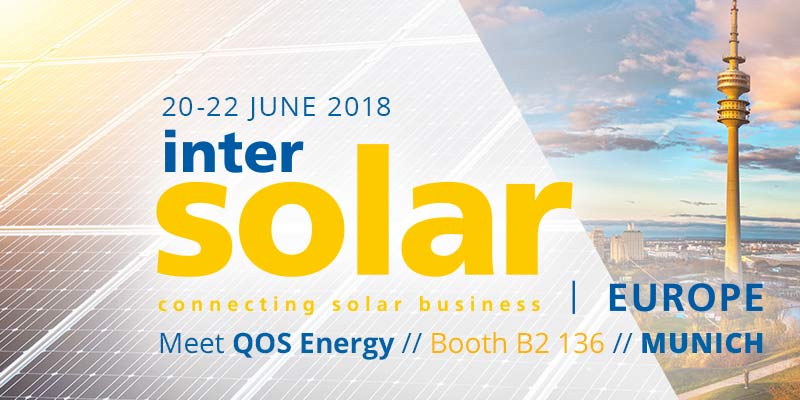 Intersolar Europe - QOS Energy