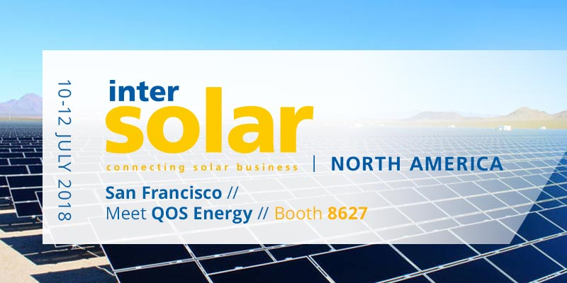 Intersolar North America - QOS Energy