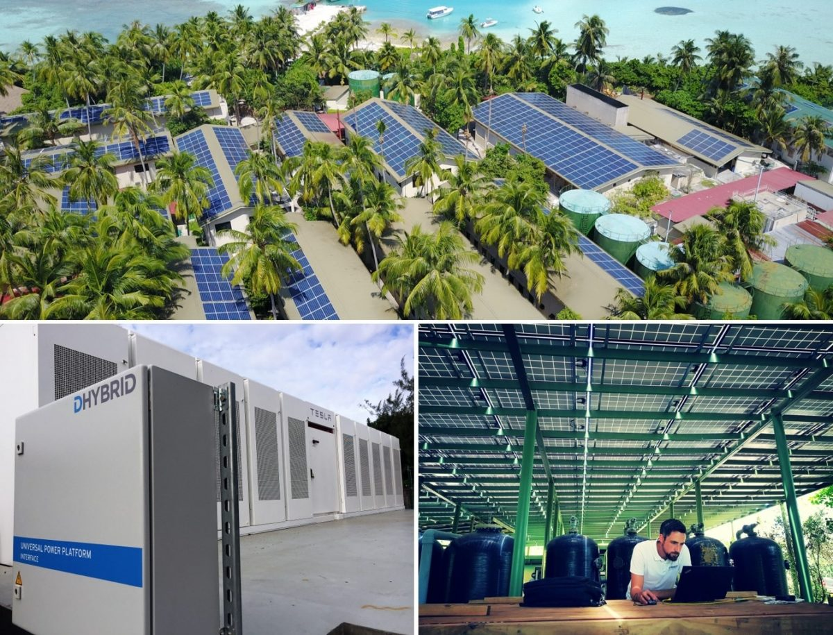 DHYBRID Solar PV plants and Storage