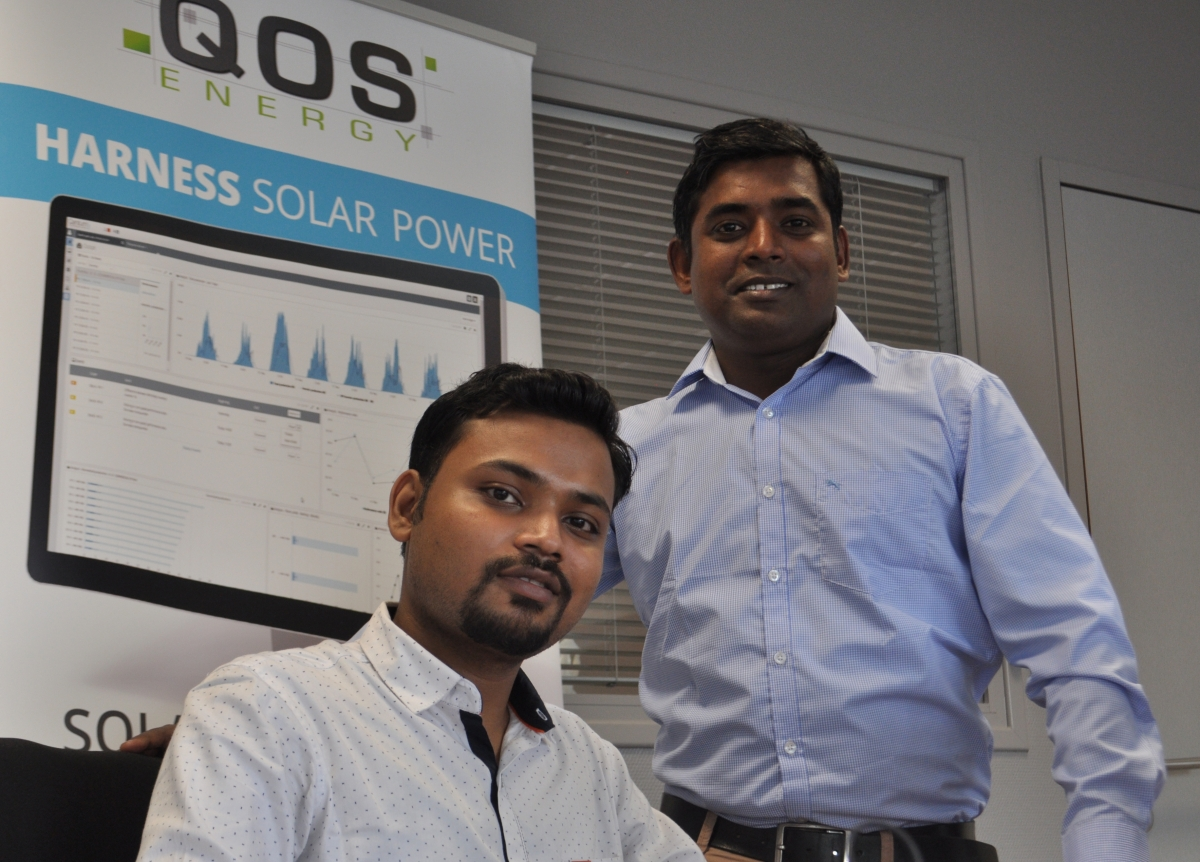 QOS Energy's Indian office