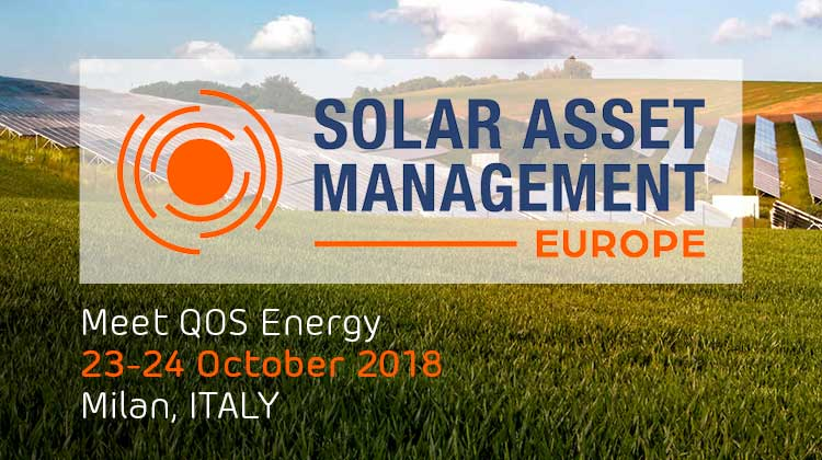 Meet QOS Energy at Solar Asset Management