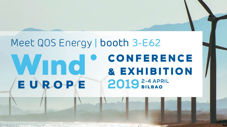 Meet QOS Energy at Wind Europe 2-4 april