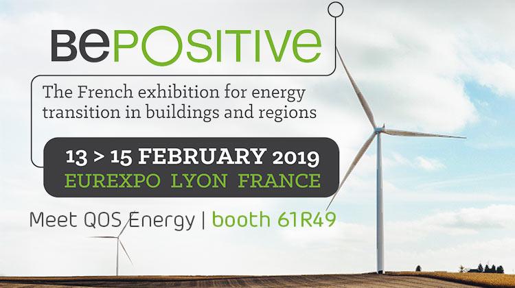 Meet QOS Energy at BePositive, booth 61R49
