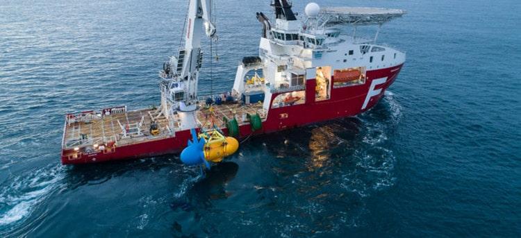 Tidal turbine immersion - Sabella
