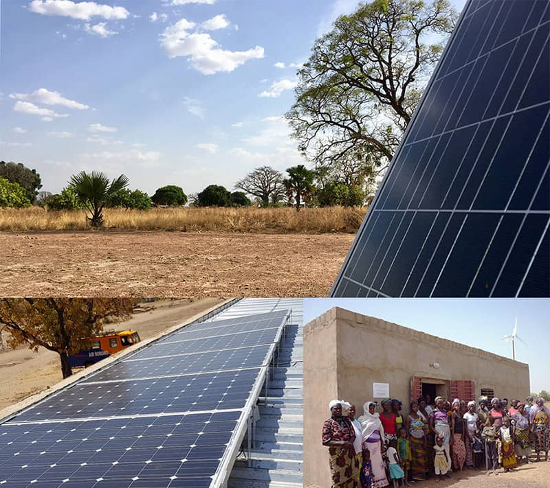 Development of renewable energies in the African continent