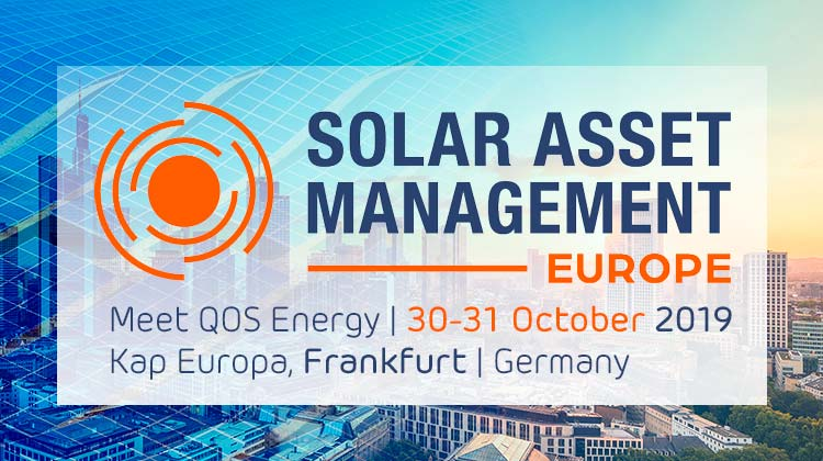 Meet QOS Energy at Solar Asset Management Europe 2019
