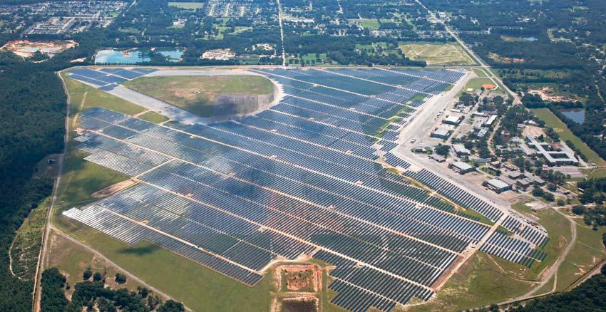 Coronal Energy Saufley Solar Plant