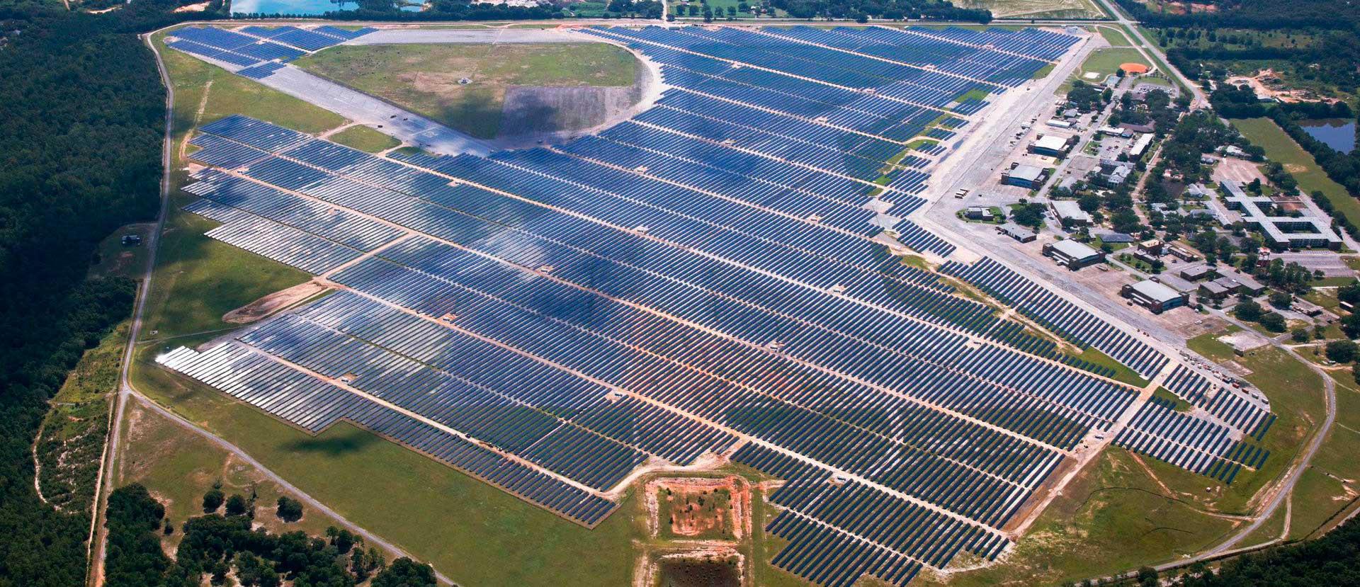 Saufley Utility Scale Solar PV Plant - Coronal Energy