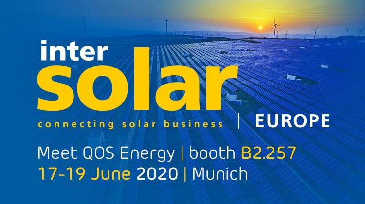 Meet QOS Energy at InterSolar Europe 2020