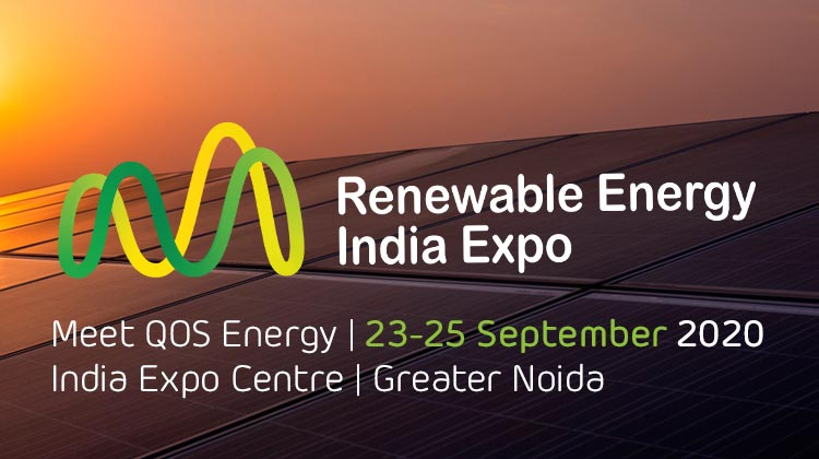 Meet QOS Energy at Renewable India Expo