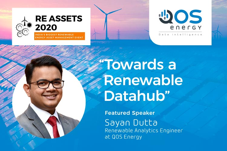 Sayan Dutta speaking at RE Assets - Towards a Renewable Datahub