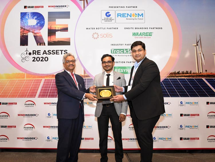 RE Assets India 2020 awards QOS Energy