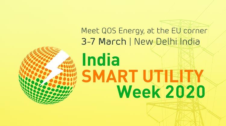 Meet QOS Energy at India Smart Utility Week 2020