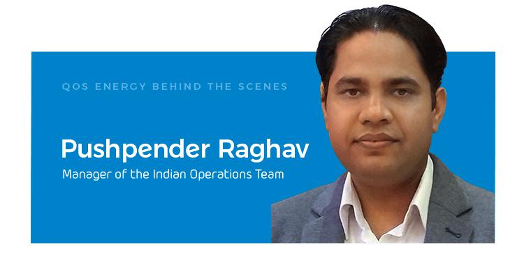 Pushpender Raghav Operations Manager