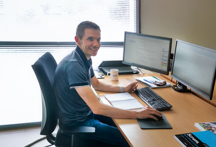 Clement Rasselet product owner and product quality manager
