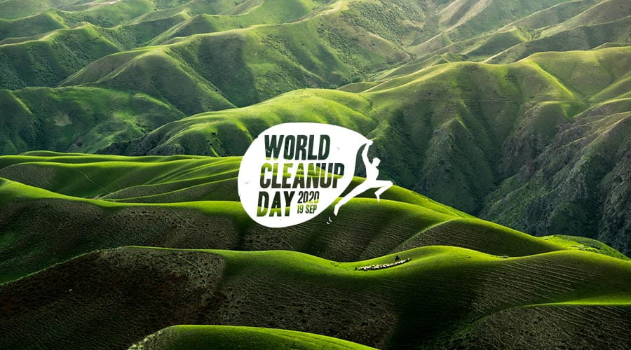 Banner world clean up day