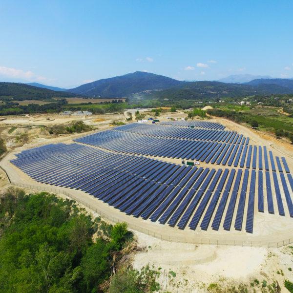 Ccorsica Sole PV storage Plant